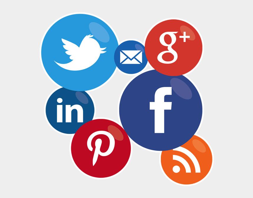 social media clipart png, Cartoons - Social Media Posts Icons