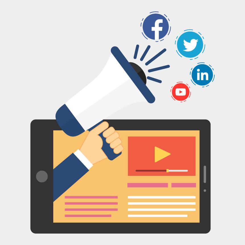 social media clipart png, Cartoons - Social Media Circle Icons