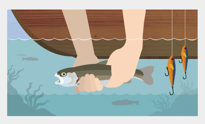 catch fish clipart, Cartoons - Illustration