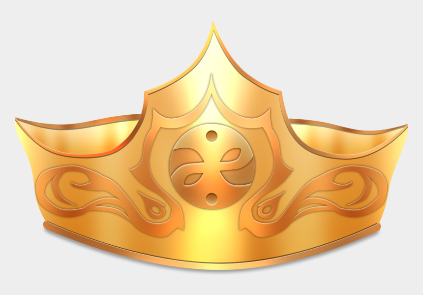 queen crown clipart, Cartoons - Crown Png - Transparent Background Gold Crown