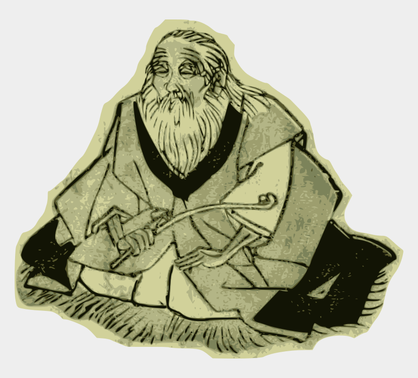 old man clipart, Cartoons - Wise Old Man Clipart