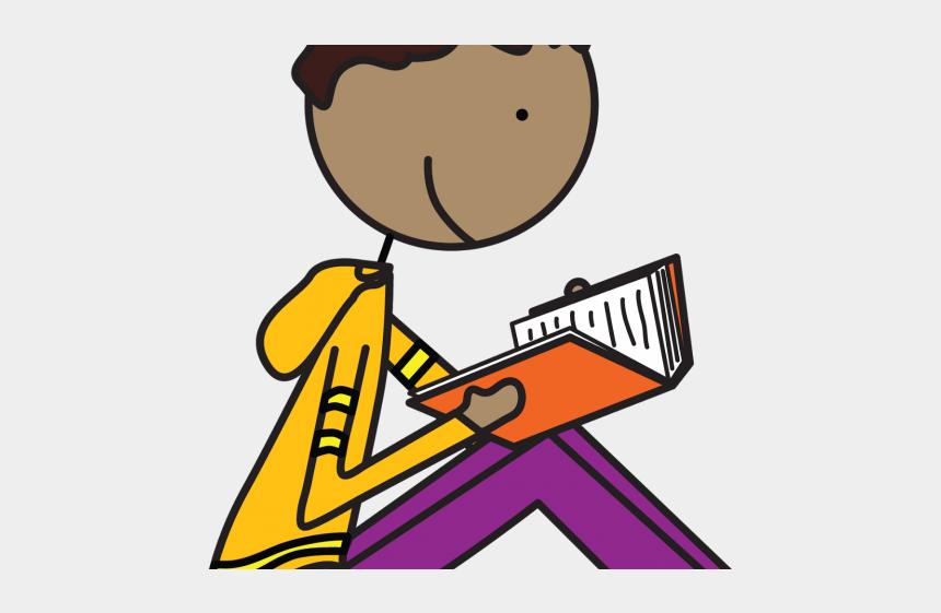 reading book clipart, Cartoons - Bobook Clipart Reading Book - Kids Reading Clip Art