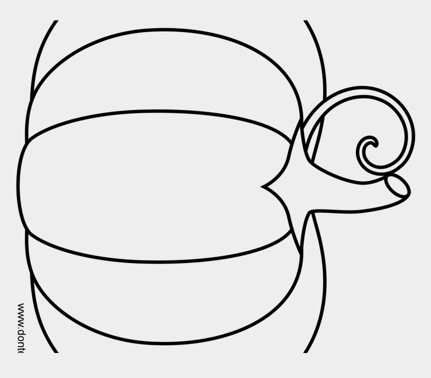 pumpkin clipart black and white, Cartoons - Pumpkin Outline Png - Cute Pumpkin Clipart Black And White
