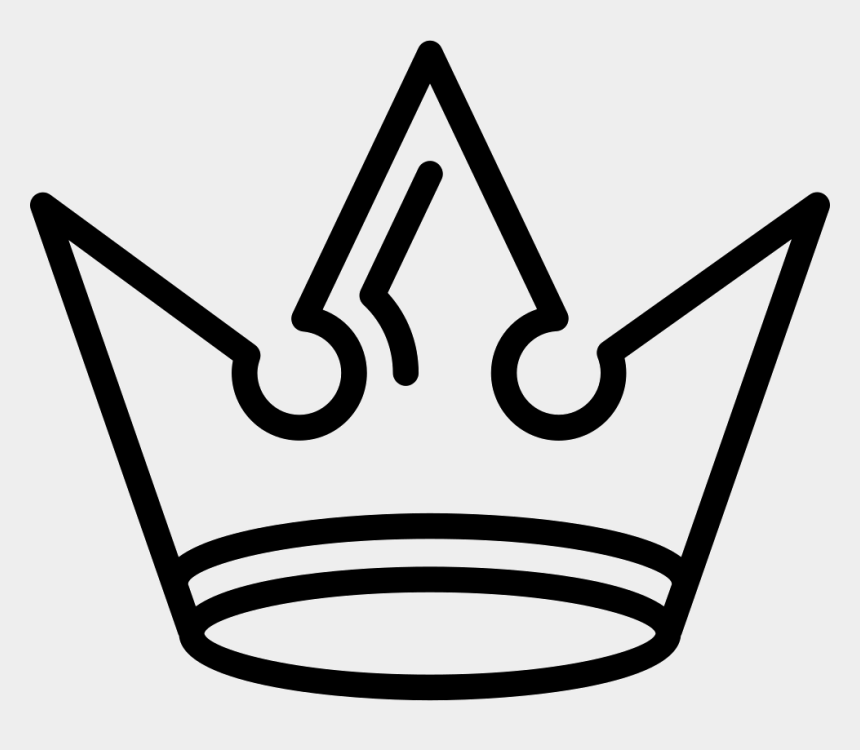 king crown clipart, Cartoons - Royal Crown Of Vintage Sharp Spiky Design Comments - Crown Logo Hd Png