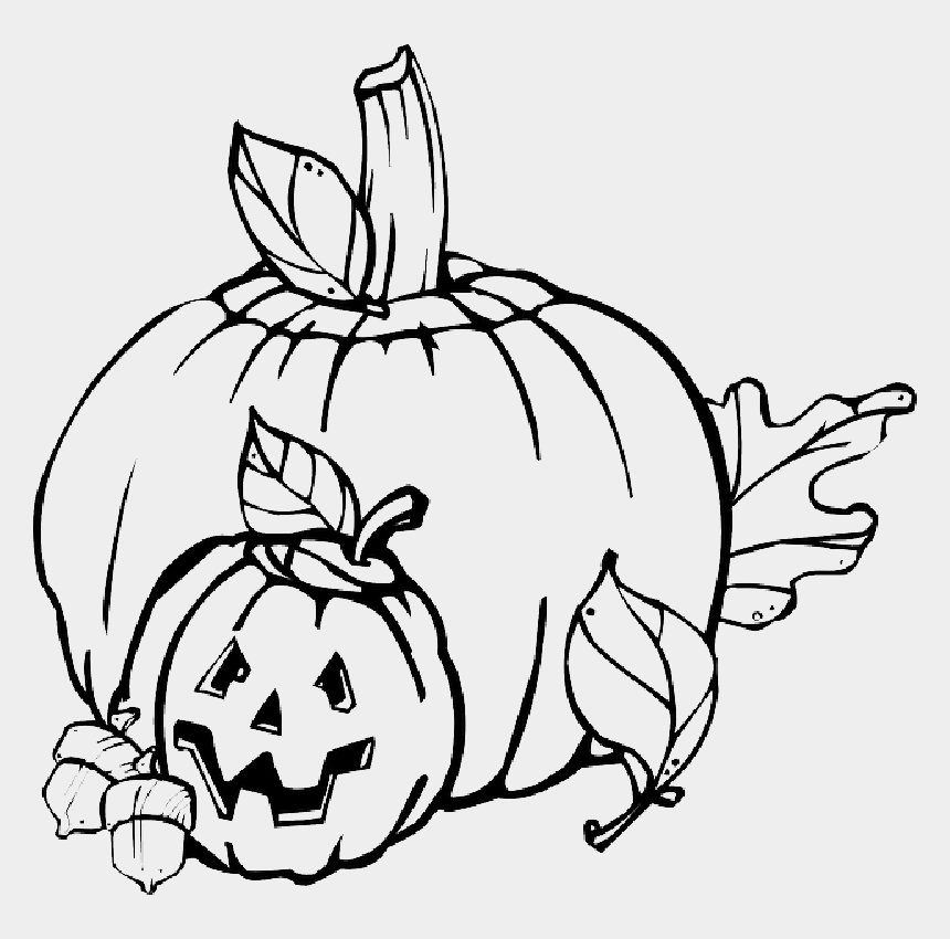 pumpkin clipart black and white, Cartoons - Fall, Pumpkin, Outline, Drawing, Jack, Leaf - Pumpkins Clipart Black And White