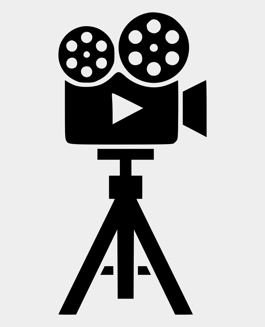 watching tv clipart, Cartoons - Clipart Tv Film Tv - Video Camera On Tripod Icon