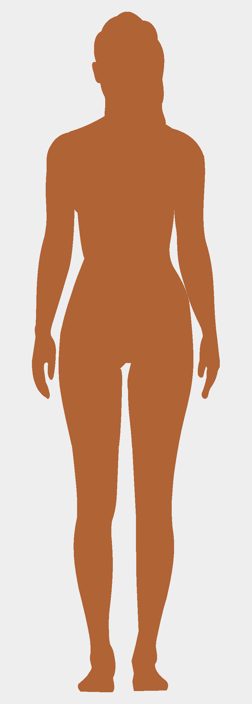 human body clipart, Cartoons - Human Body Outline Png - Female Human Body Png