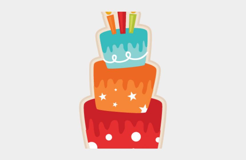 birthday party clipart, Cartoons - Birthday Cake Clipart Silhouette - Birthday Cake Orange Clip Art