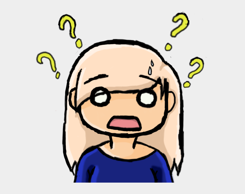 confused clipart, Cartoons - Confused Clipart Confused Expression - People Confused Clipart Png