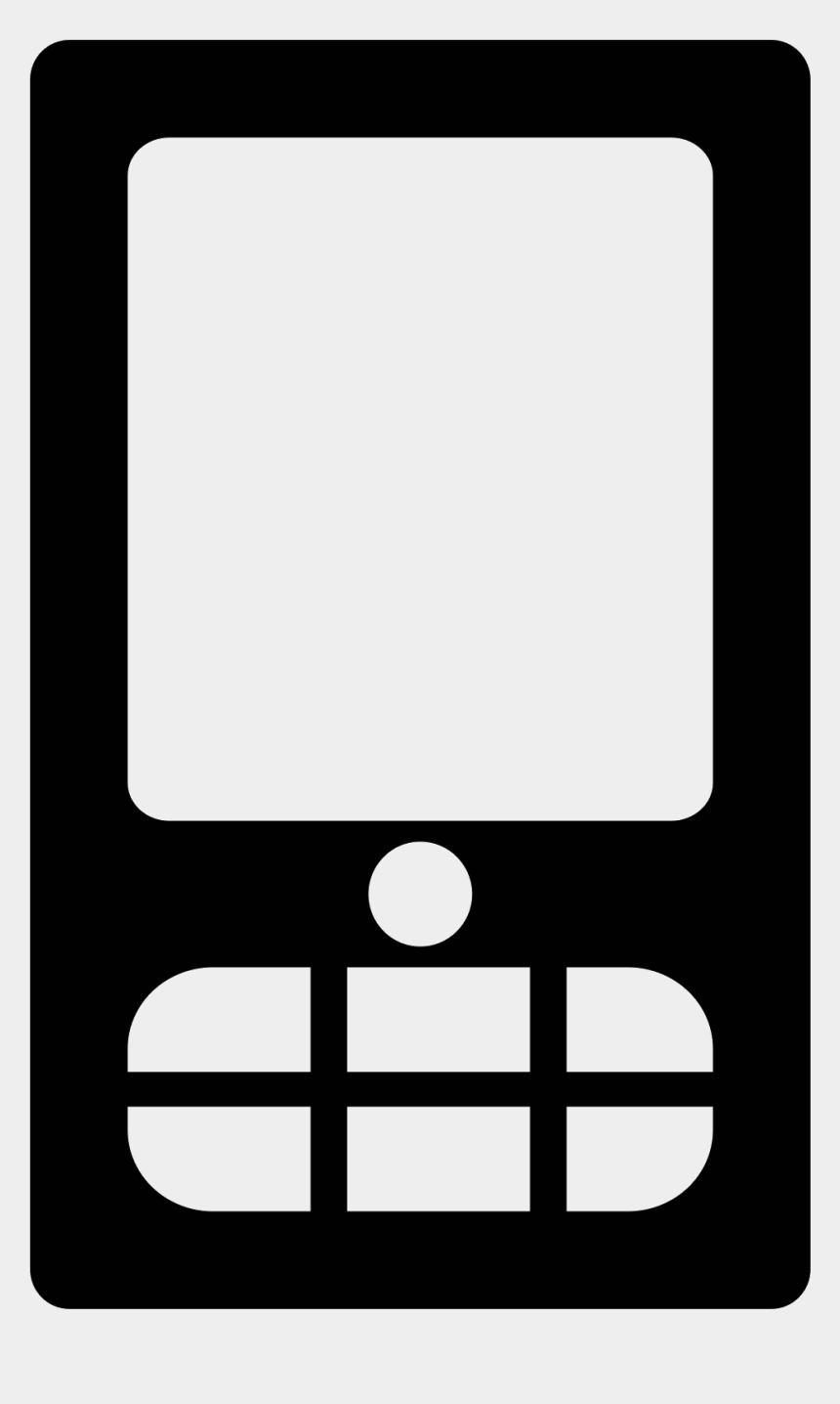 smartphone clipart, Cartoons - Smartphone Clipart Mobile Icon - Mobile Icon In Png