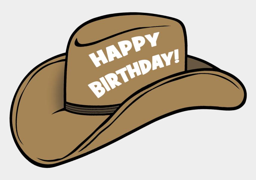 party hat clipart, Cartoons - Cowboy Birthday Hats - Happy Birthday Cap Png