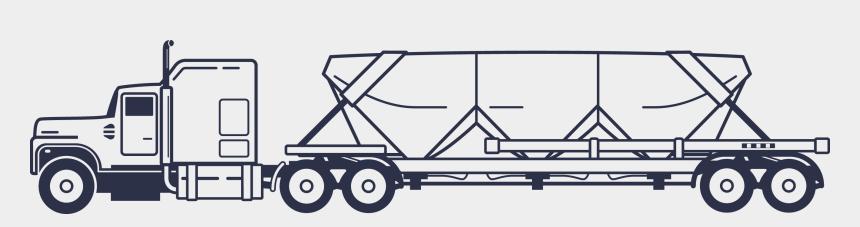 dump truck clipart, Cartoons - Frac Sand Hauling - Frac Sand Hauling Truck