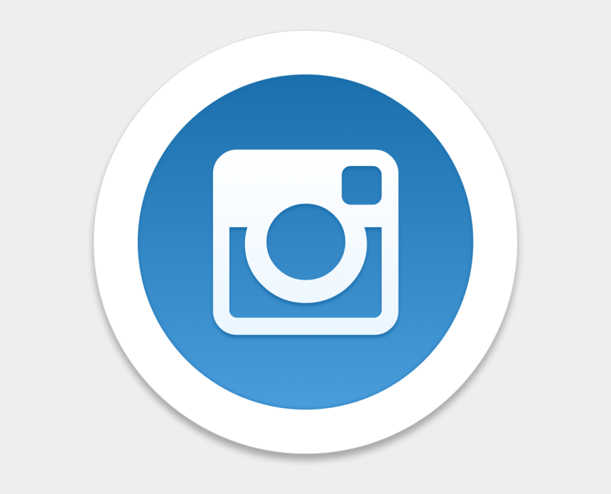 clipart app, Cartoons - Instagram Clipart App Iphone - Social Media Black Icon Png
