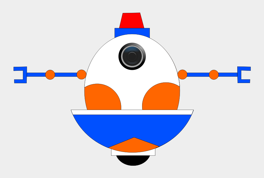auge clipart, Cartoons - Get Notified Of Exclusive Freebies - Robot