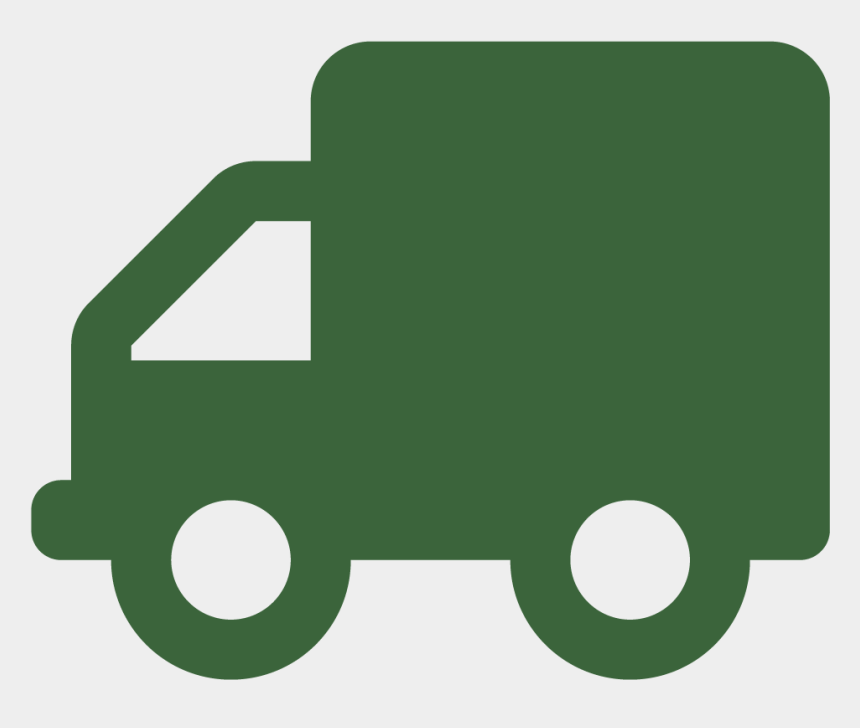 dump truck clipart, Cartoons - Icon Truck Black Png Clipart - Green Truck Icon Png