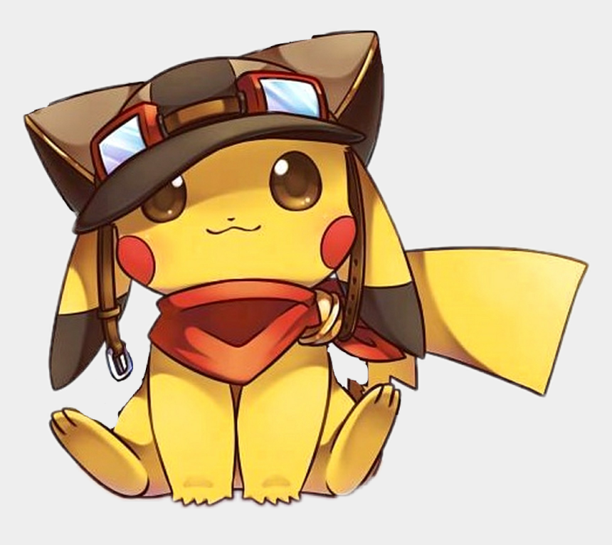 auge clipart, Cartoons - Pikachu Sticker - Pilot Pikachu