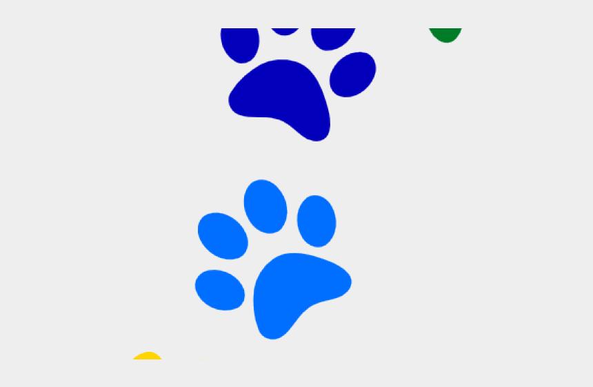 paw clipart, Cartoons - Paw Clipart Rainbow - Patitas De Perro Png
