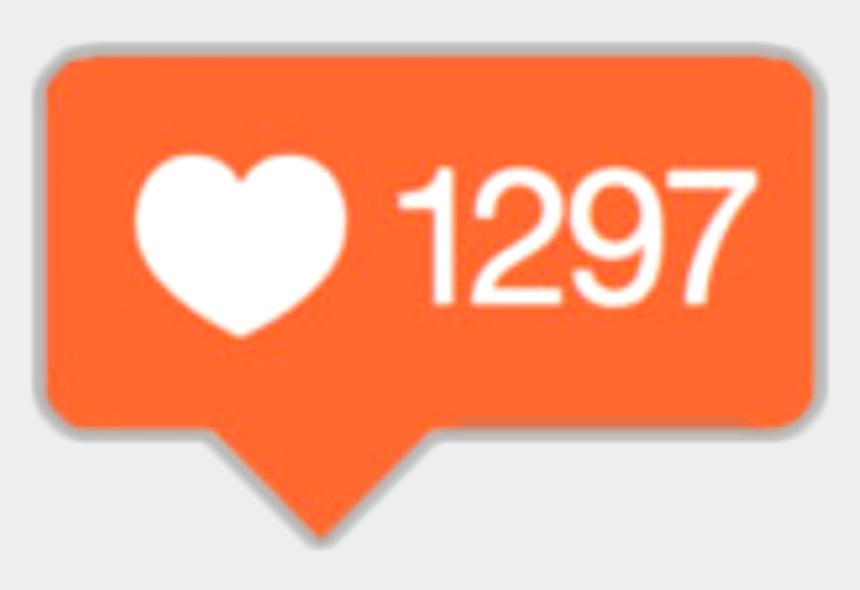 instagram clipart, Cartoons - Instagram Clipart Instagram Heart - Instagram Likes Symbol Transparent