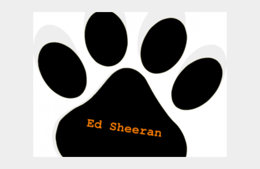 dog paw clipart, Cartoons - Paw Clipart Ed Sheeran Dog - Change You Want To See