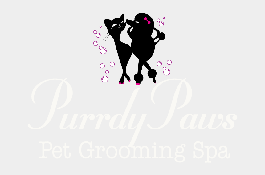 dog paw clipart, Cartoons - Paw Clipart Dog Spa - Purrdy Paws Pet Grooming