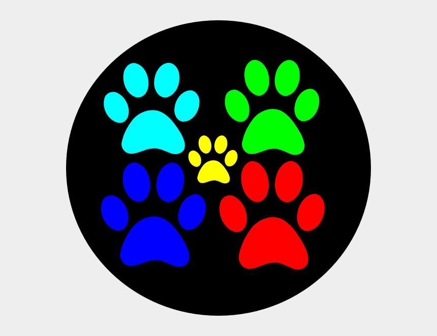 dog paw clipart, Cartoons - Paw Clipart Service Dog - Dog Walking
