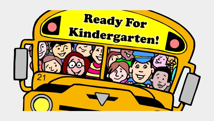 kindergarten clipart, Cartoons - Cartoon Bus School Png