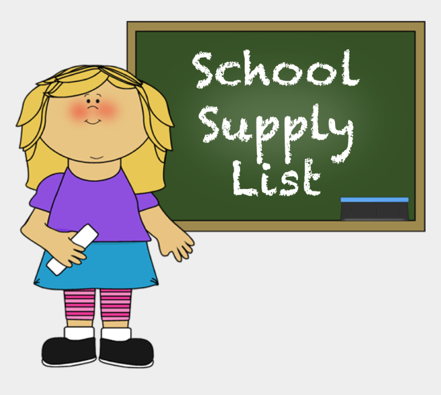 school supplies clipart, Cartoons - School Supply List - School Choices