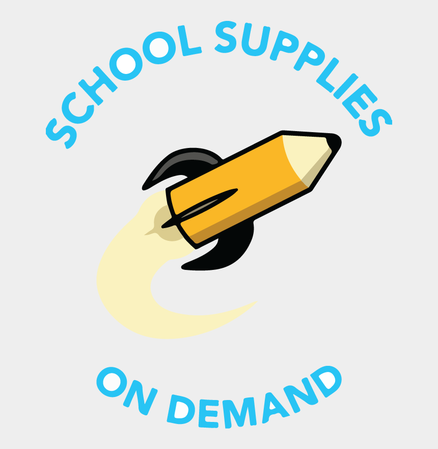 school supplies clipart, Cartoons - Supplies On Demand Made - Graphic Design