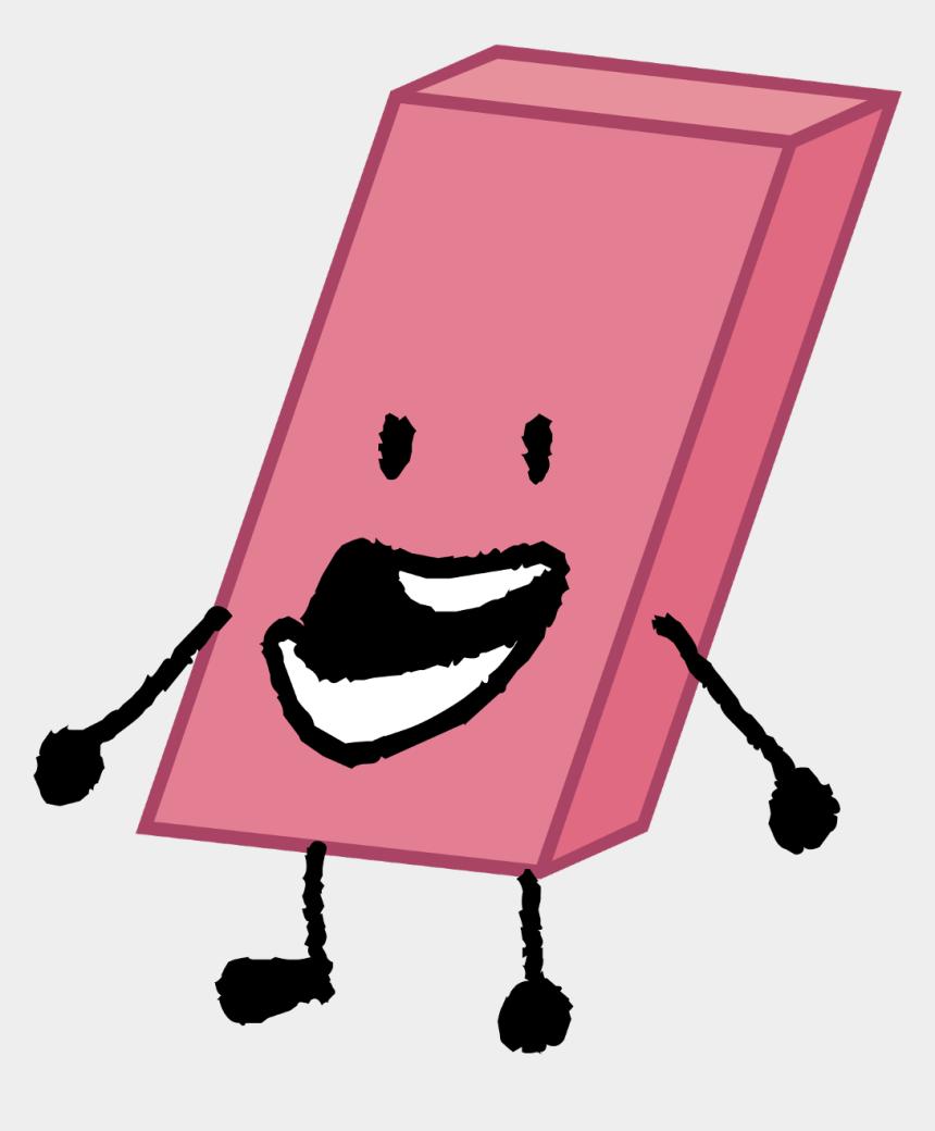 eraser clipart, Cartoons - #eraser #bfb - Eraser Battle For Dream Island
