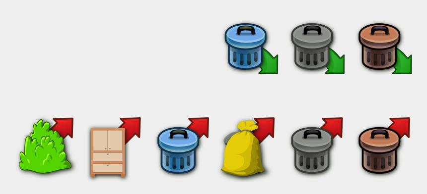 trash can clipart, Cartoons - Trash Can Clip Art