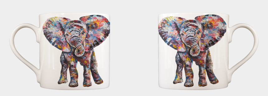 baby elephant clipart, Cartoons - Drawing Elephants Baby Elephant - Modern Art