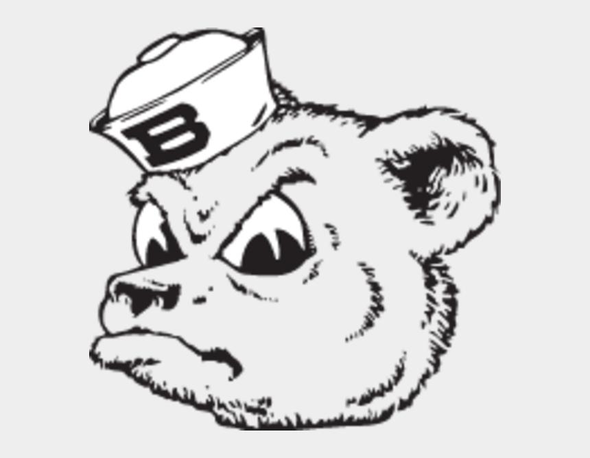 bear clipart black and white, Cartoons - Black Bear Clipart Baylor Bear - Baylor Bears And Lady Bears