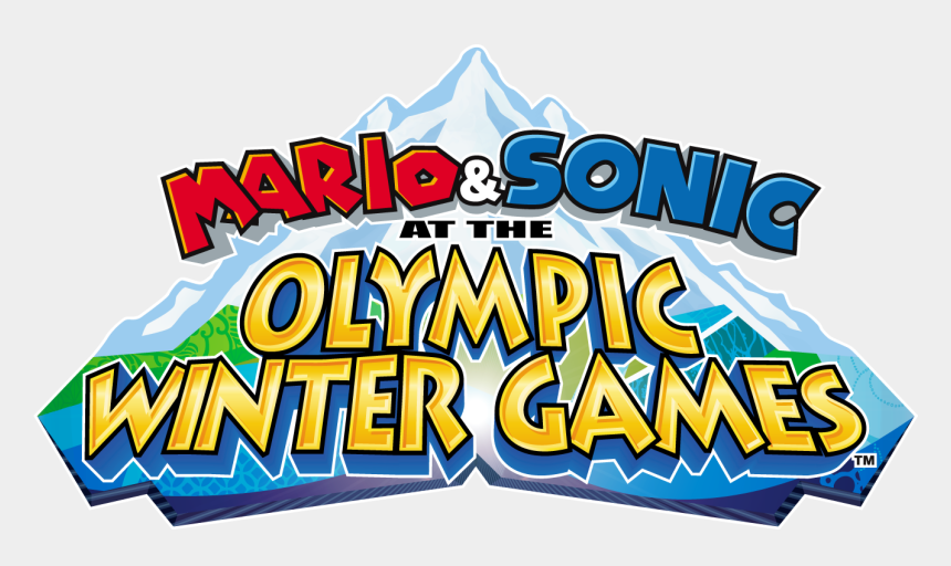 winter olympic clip art, Cartoons - Mario & Sonic At The Olympic Games