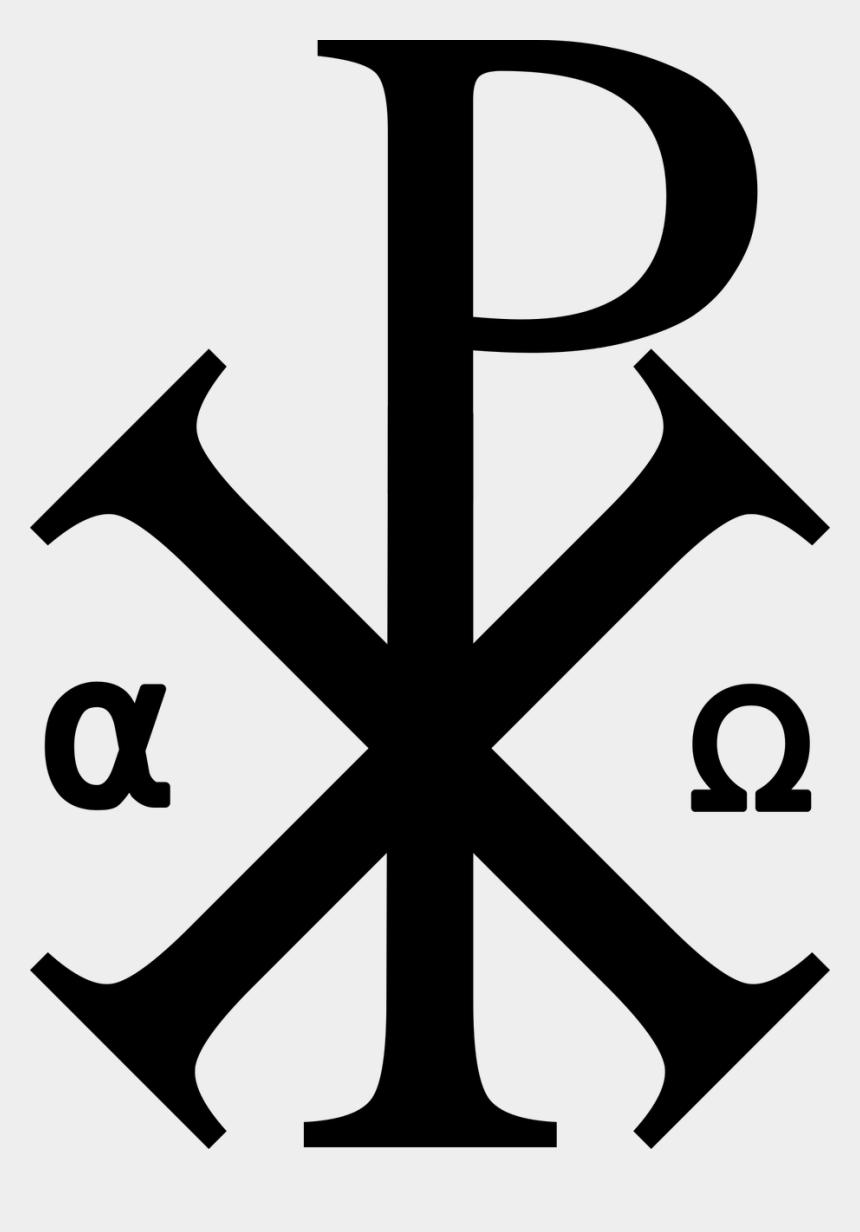 religious free clip art, Cartoons - Christian Symbol Alpha And Omega Meaning