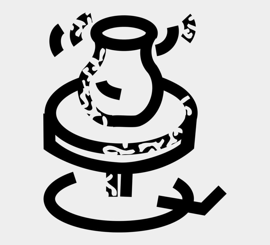 pottery wheel clip art, Cartoons - Potter's Wheel