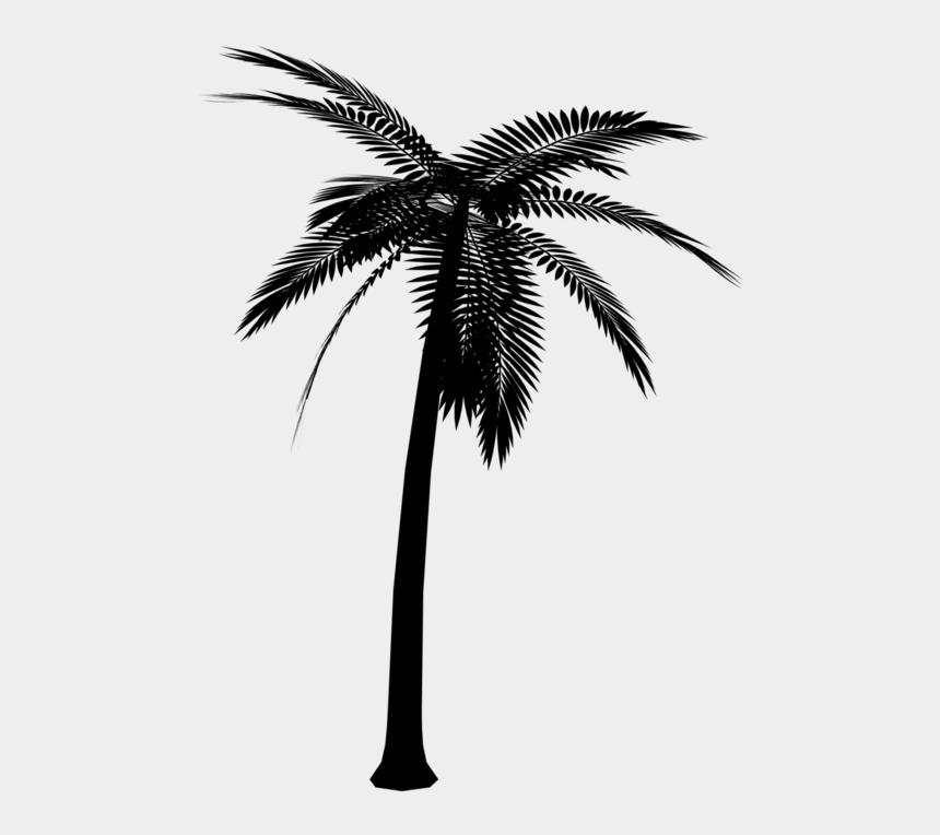 black palm tree clip art, Cartoons - Silhouette Palm Tree Png