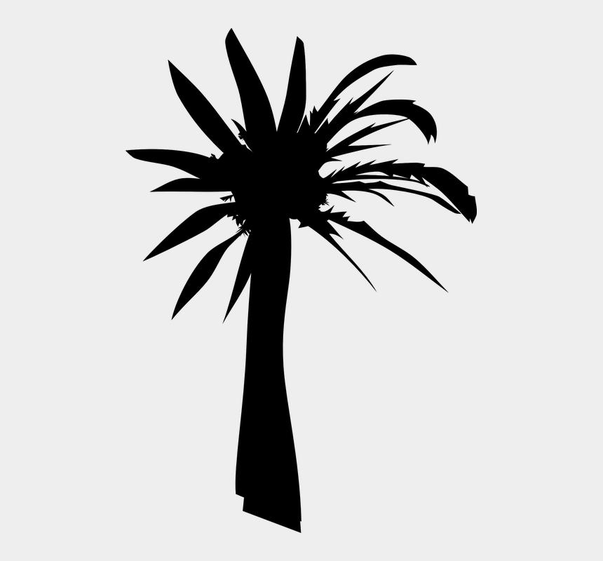black palm tree clip art, Cartoons - Palm Oil Tree Silhouette