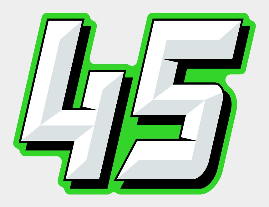 racing flames clipart, Cartoons - Number Design