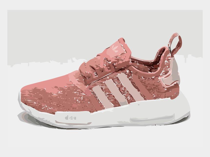 pink shoe clipart, Cartoons - Adidas Nmd Runner Rosa