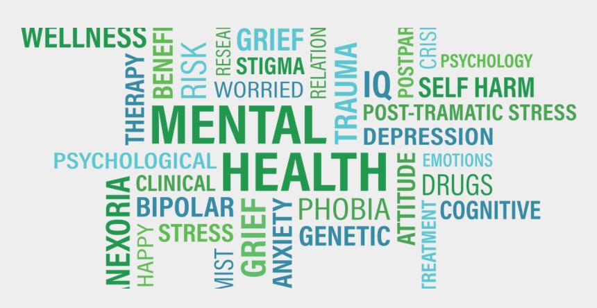mental emotional health clip art, Cartoons - Mental Health Awareness Month 2018