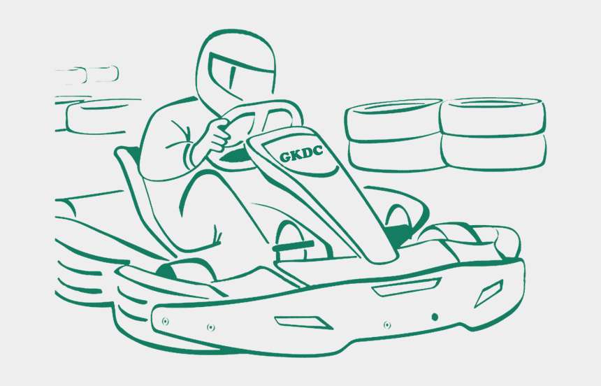 go kart clip art, Cartoons - Go Karting Winners Png