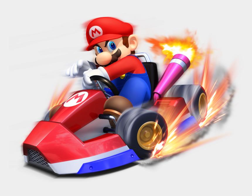 go kart clip art, Cartoons - Mario Kart Arcade Gp Mario