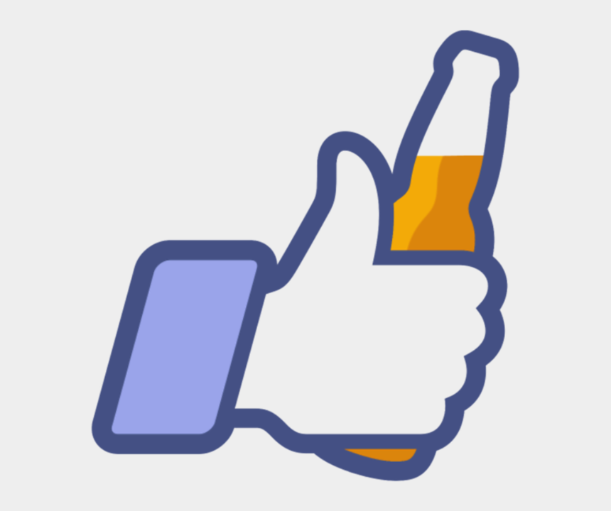 facebook thumbs up clipart, Cartoons - Funny Facebook Like Icon