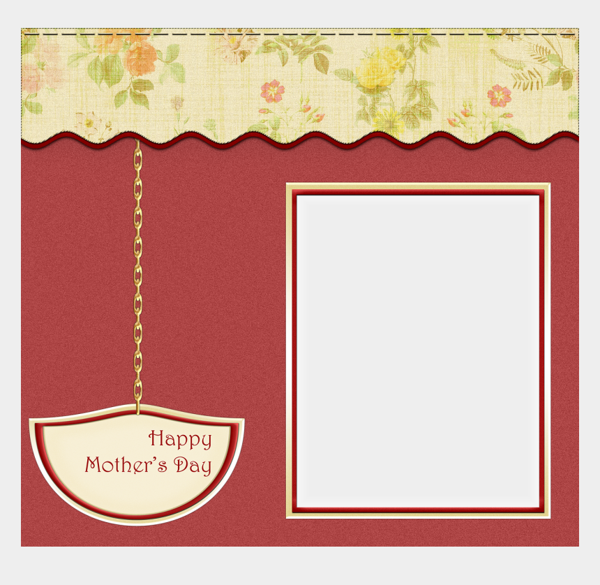 mothers day card clipart, Cartoons - Happy Mothers Transparent Mother's Day Frames