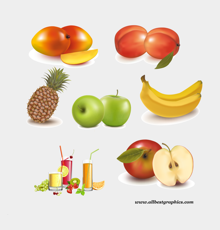 fruit background clipart, Cartoons - Juice Vector