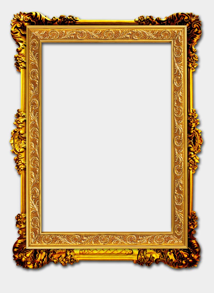 gold horseshoe clipart, Cartoons - Golden Frame Png Hd