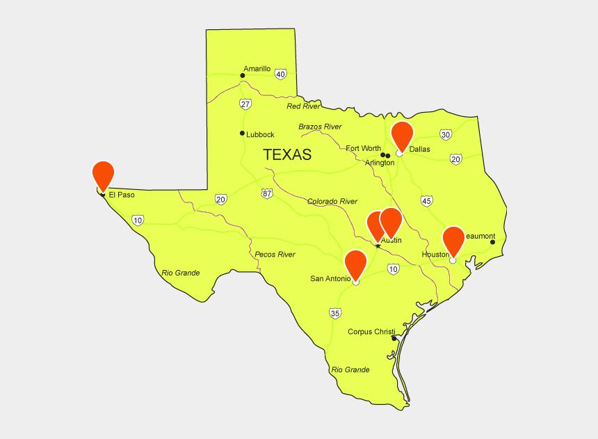 texas shape clipart, Cartoons - Austin Texas Map Vector