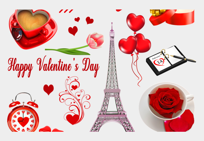 valentine s day party clipart, Cartoons - Eiffel Tower Valentine Cards Free Download