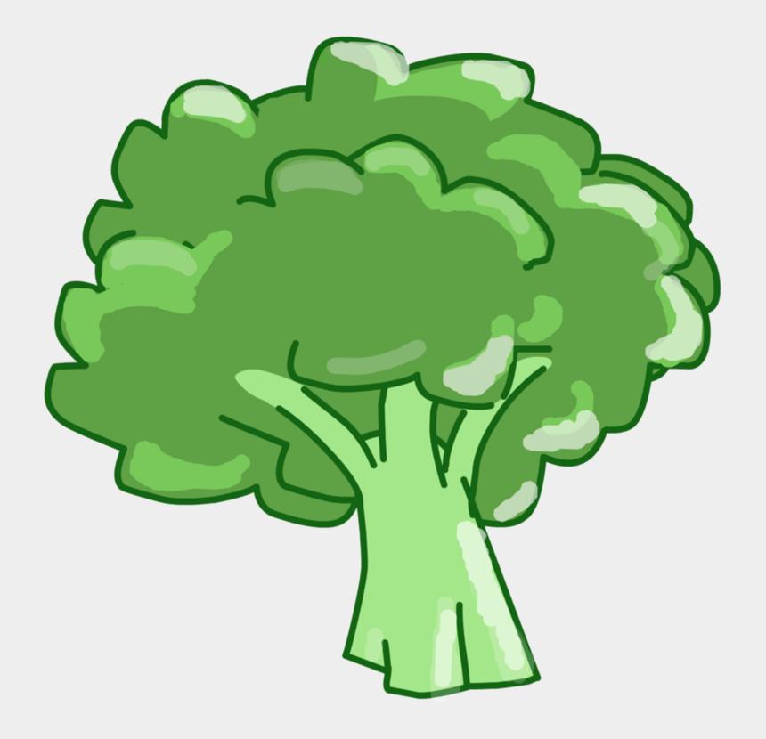 leaf stem clipart, Cartoons - Broccoli