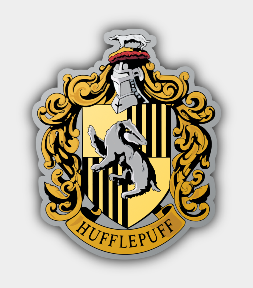 harry potter love clipart, Cartoons - Hufflepuff Crest No Background